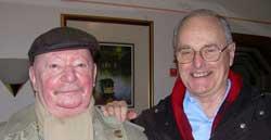 Gerald Chapple with Günter Kunert